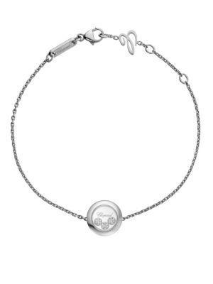 Chopard Happy Diamonds 18K White Gold Bracelet