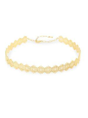 Jules Smith Knowles Coil Choker In Gold