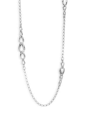 John Hardy Bamboo Sterling Silver Link Necklace