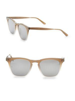 Smoke X Mirrors Rocket, 50Mm, Rectangle Sunglasses In Taupe