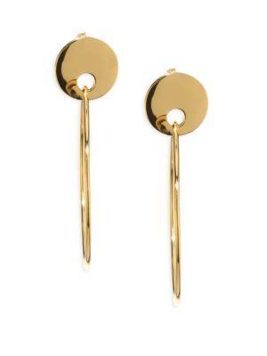 Jules Smith Imogen Hoop Earrings In Gold