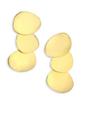 Lizzie Fortunato Goldsworthy Link Drop Earrings