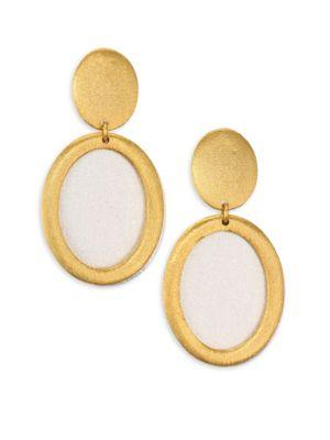 Stephanie Kantis Life Two-Tone Double-Drop Earrings In Gold-Silver