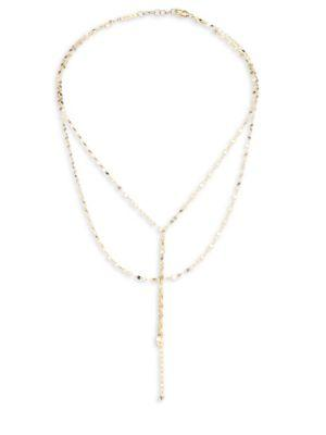 Lana Girl Mini Blake 14K Yellow Gold Necklace