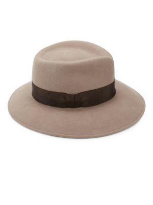 Eric Javits 'Kim' Wool Fedora - Brown In Taupe