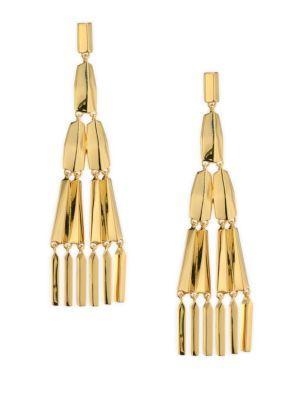 Jules Smith Freddy Chandelier Earrings In Yellow Gold
