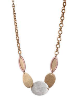 Stephanie Kantis Paris Melange Necklace In Yellow Gold