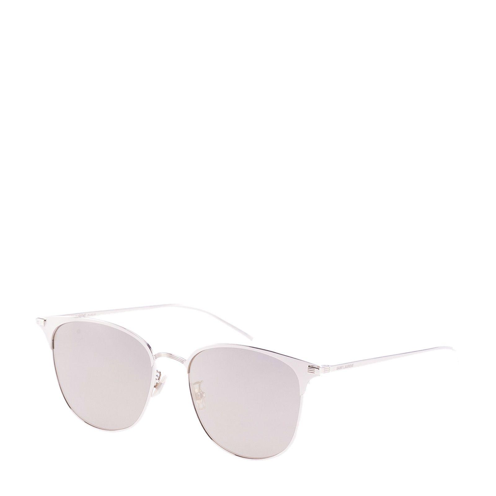 Saint Laurent Eyewear 48 T Sunglasses In Light Gold