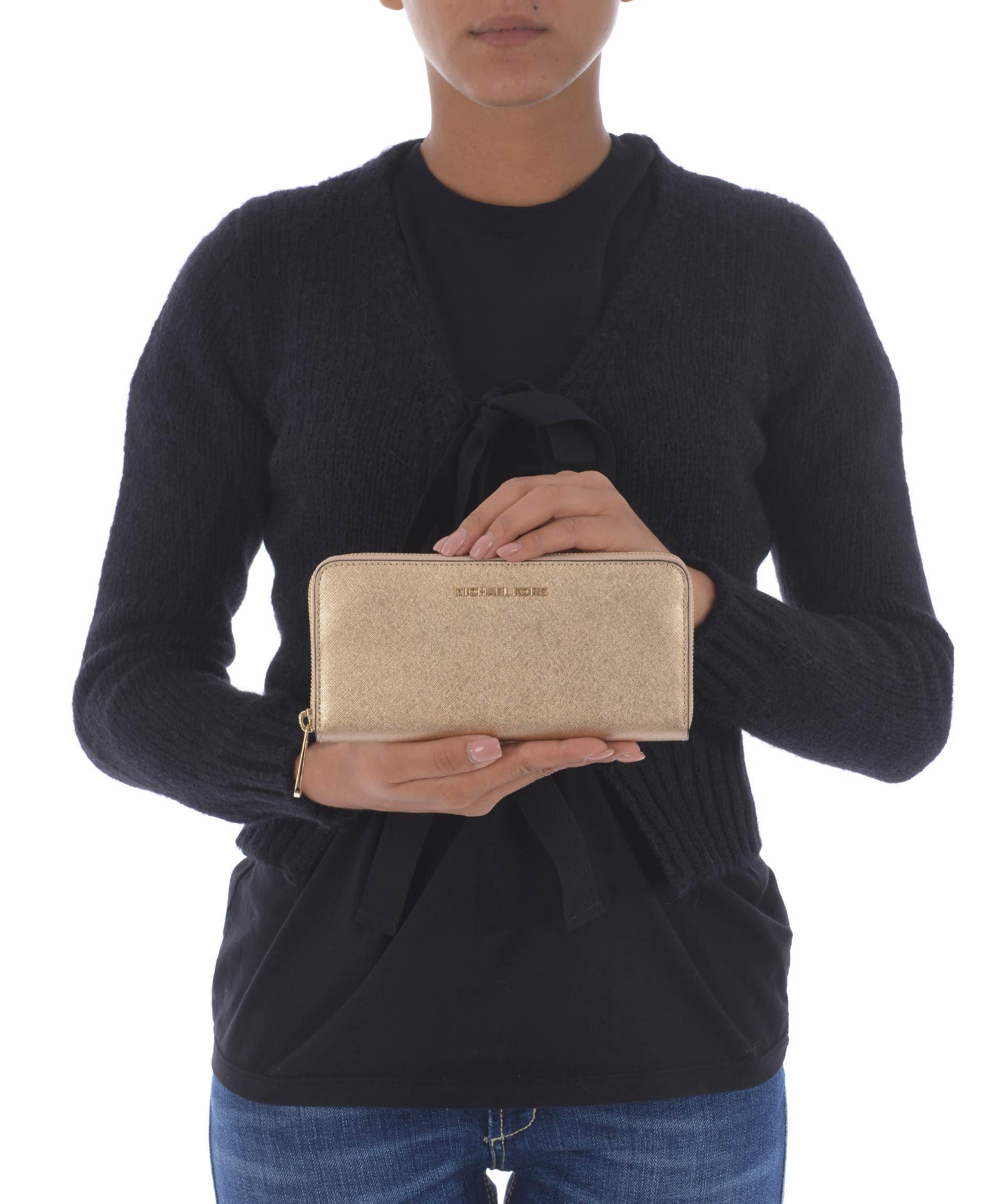 Michael Kors Sophie Trousers In Oro