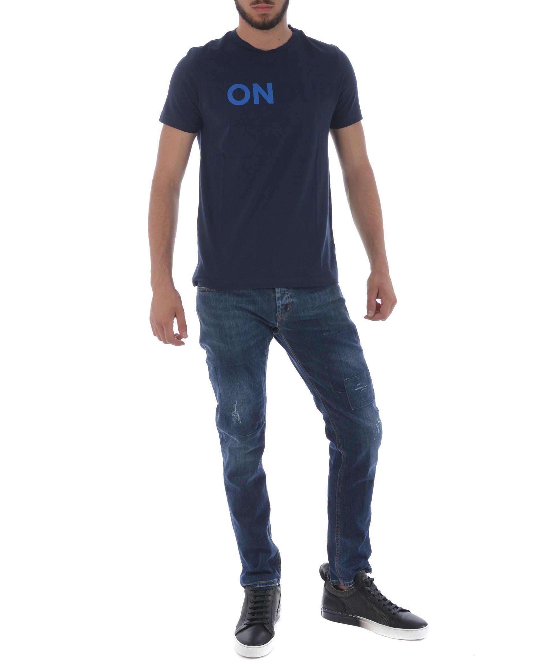 Dondup Distressed Jeans In Denim