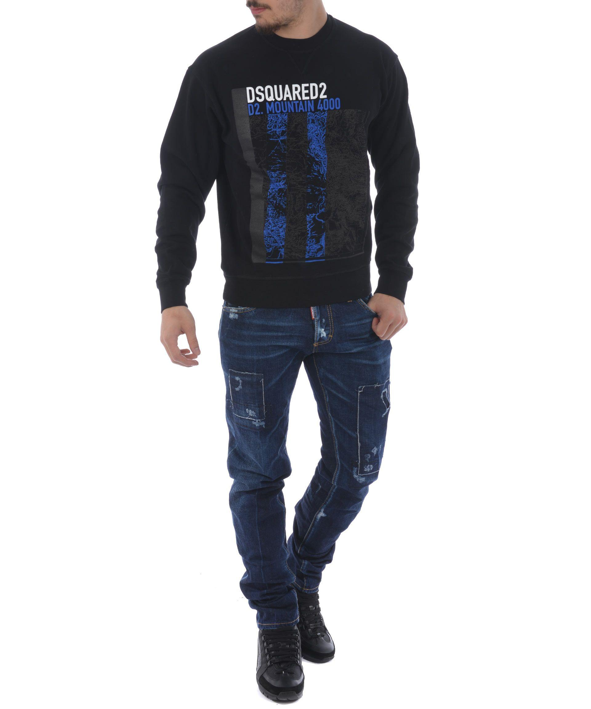 Dsquared2 Classic Skinny Jeans In Denim