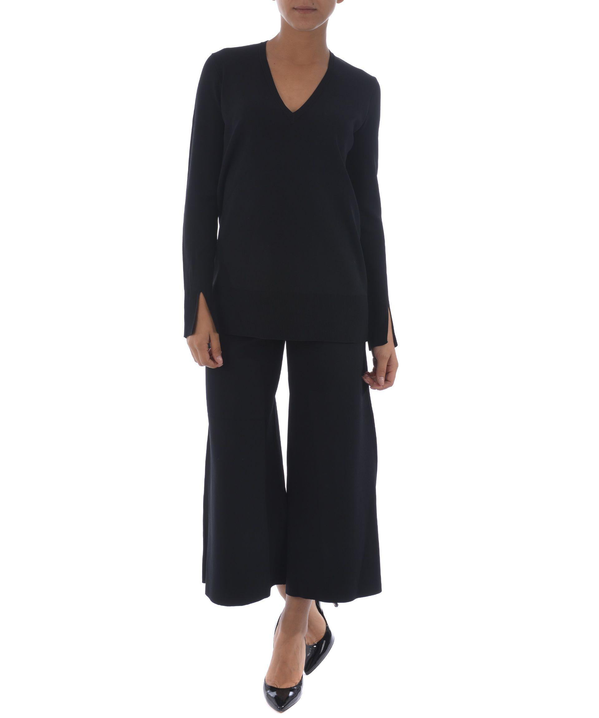 Theory V-Neck Top In Nero