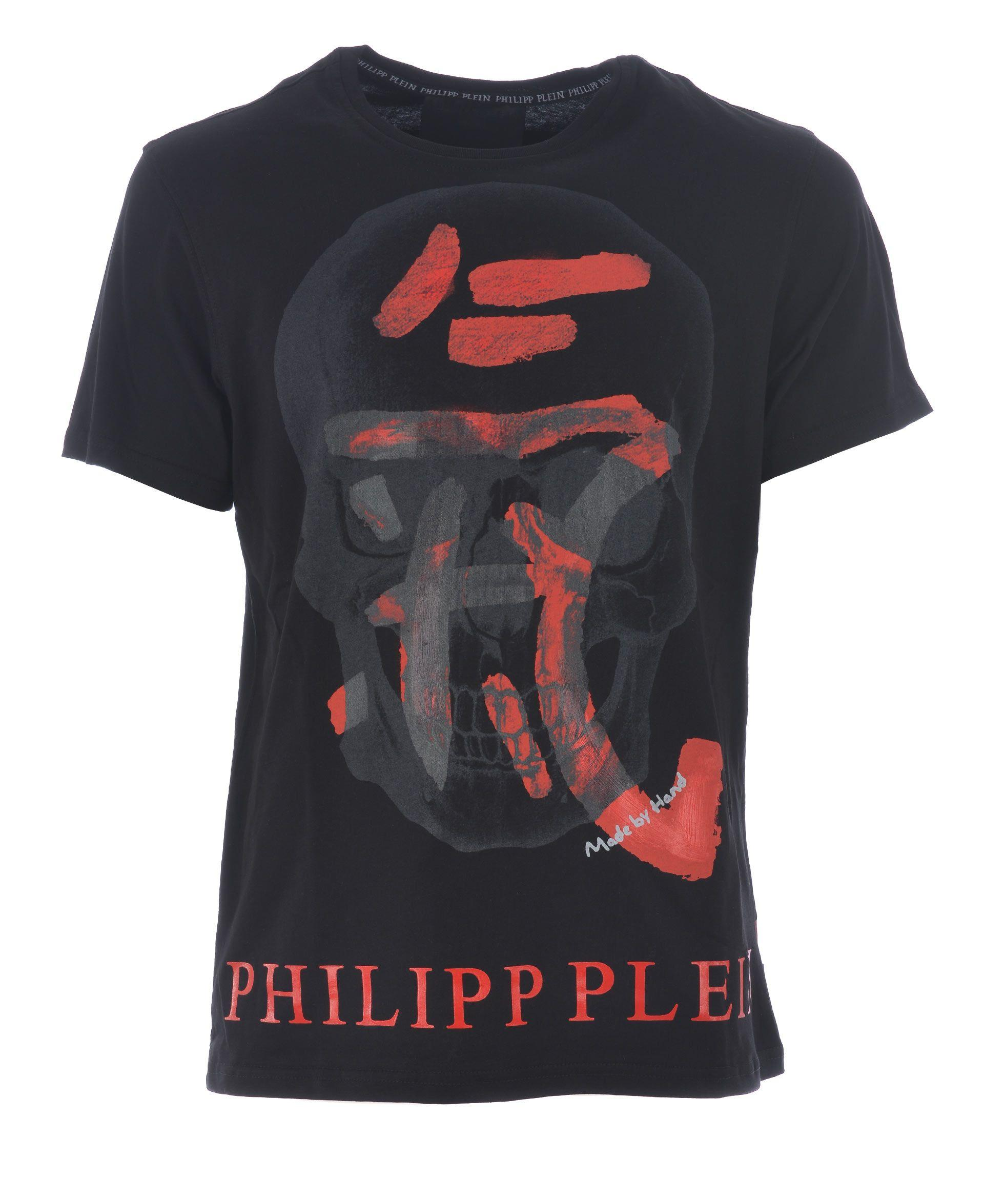 Philipp Plein Kois T-Shirt In Nero