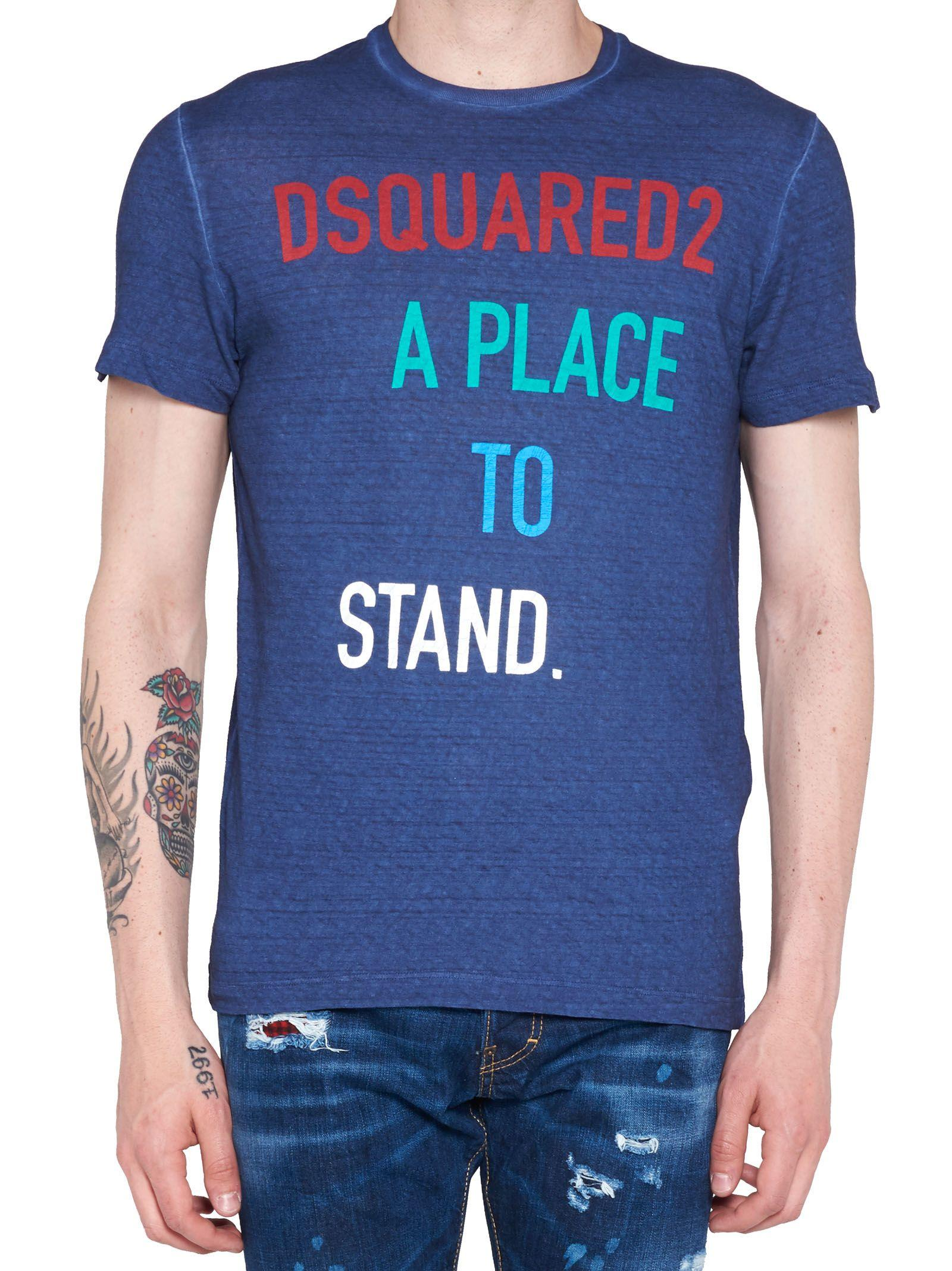 Dsquared2 T-Shirt In Blue
