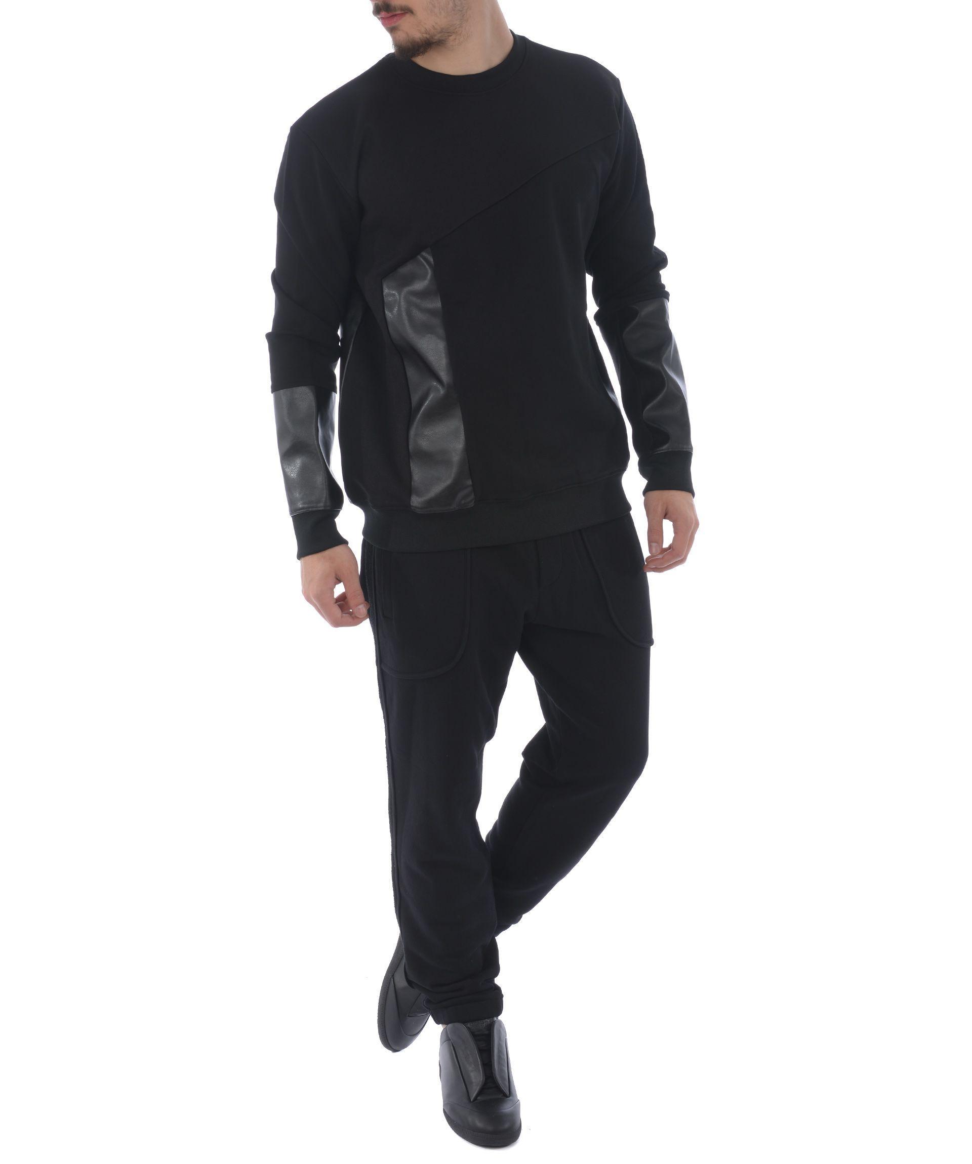 Mcq By Alexander Mcqueen Mcq Alexander Mcqueen Recycled Sweatshirt In Nero