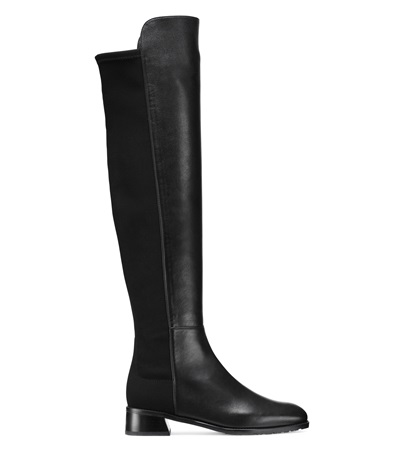 Stuart Weitzman The Modley In Black Nappa Leather