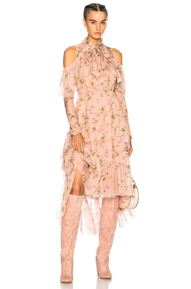 Ulla Johnson Marion Dress In Floral,Pink