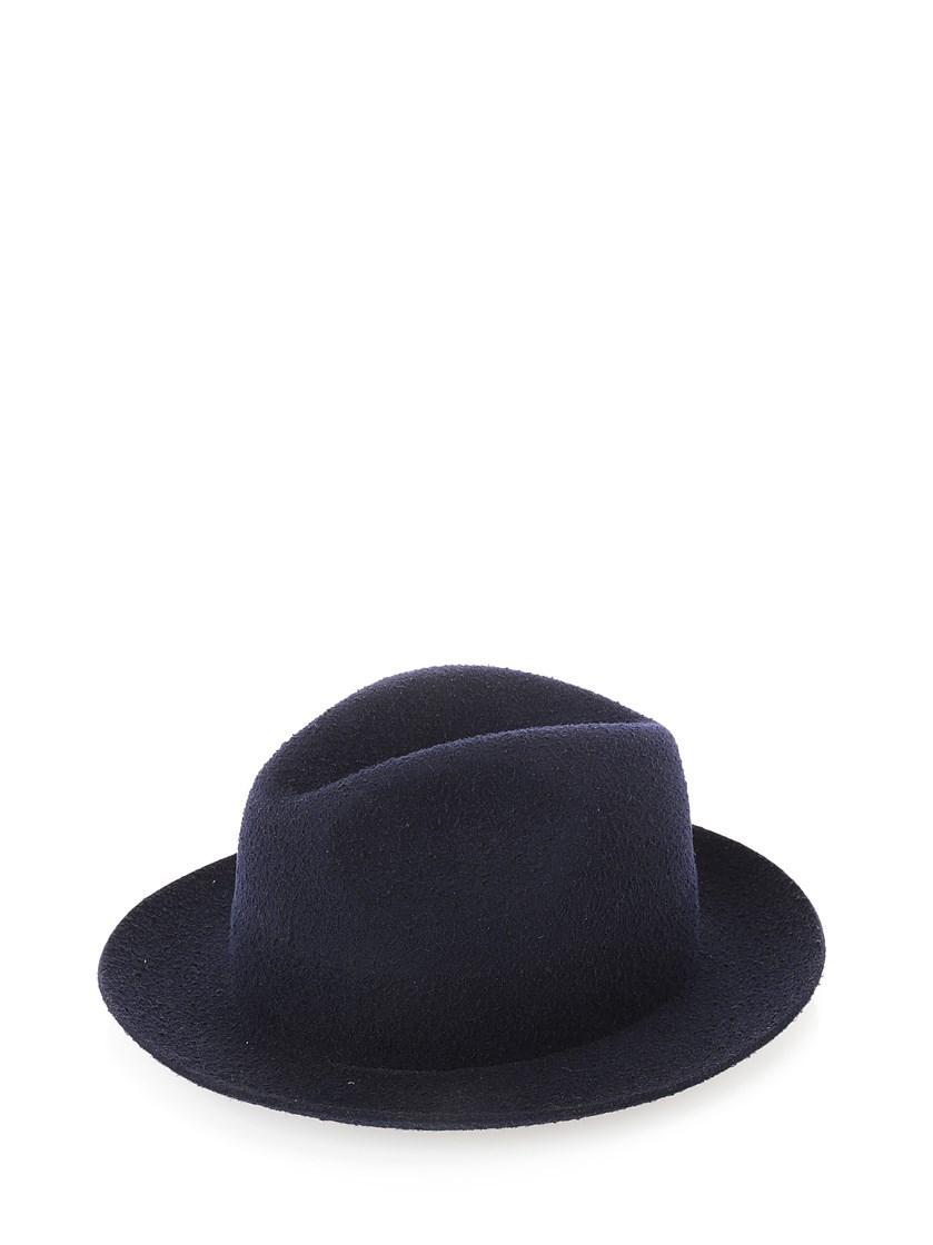 Federica Moretti Fedora Hat In Green