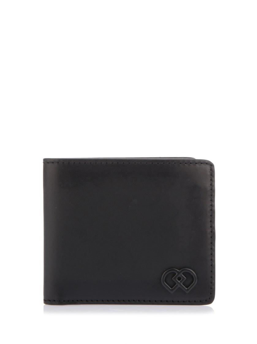 Dsquared2 'Dd' Leather Wallet In Black