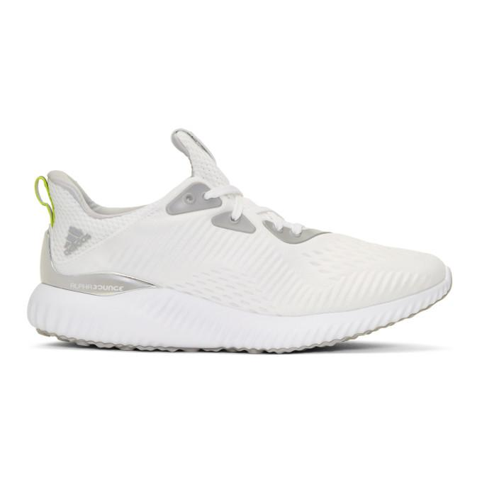 Adidas By Kolor White Alphabounce 1 Sneakers