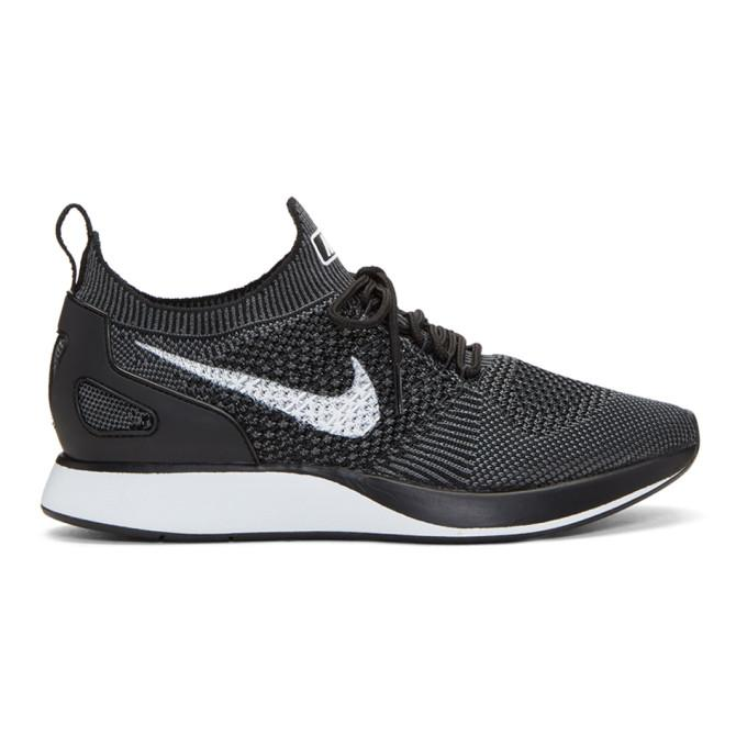 Nike Black Air Zoom Mariah Flyknit Racer Sneakers