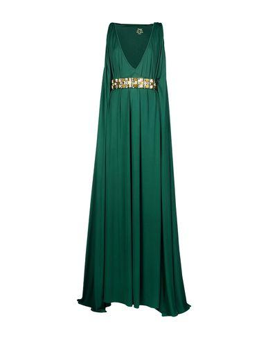 Dsquared2 Long Dress In Emerald Green