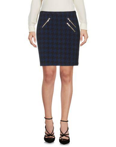 Maison Scotch Knee Length Skirt In Dark Blue