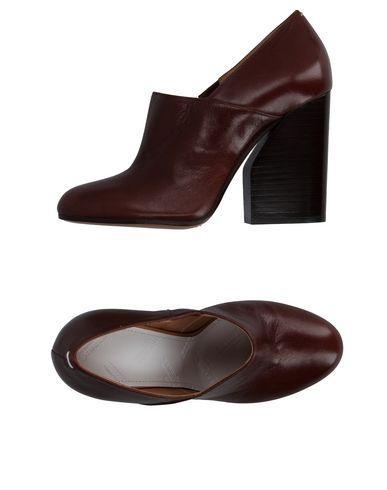 Maison Margiela Loafers In Dark Brown
