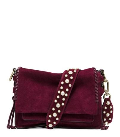 Stuart Weitzman The Plolapearl In Bordeaux Suede