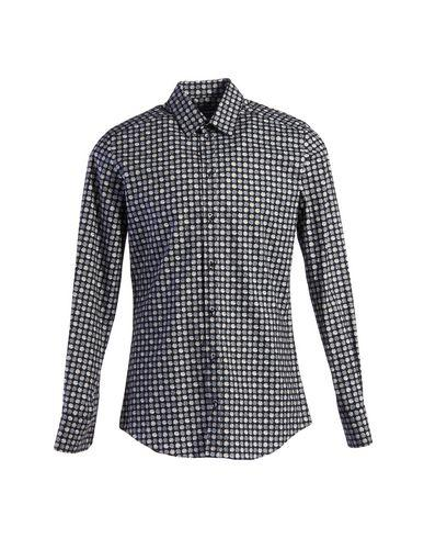 Dolce & Gabbana Patterned Shirt In Dark Blue