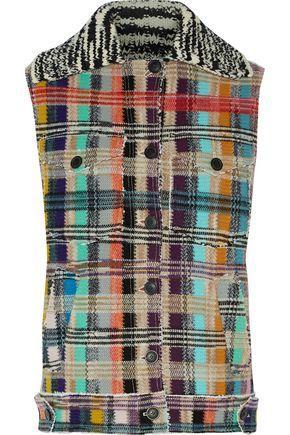 Missoni Woman Wool-Blend BouclÉ Vest Gray