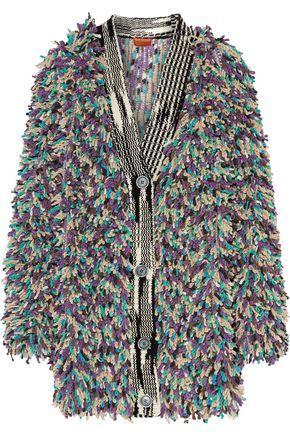 Missoni Woman Cashmere-Blend BouclÉ Coat Multicolor