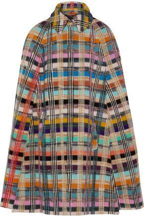 Missoni Woman Wool-Blend BouclÉ Cape Multicolor