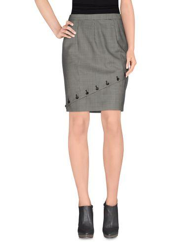 Mcq By Alexander Mcqueen Knee Length Skirt In Black
