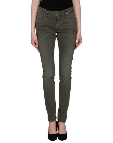Closed Denim Pants In Military Green