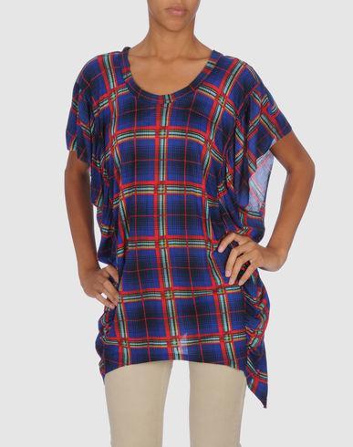 Torn By Ronny Kobo Short Sleeve T-Shirt In Blue
