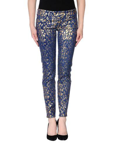 7 For All Mankind Casual Pants In Blue