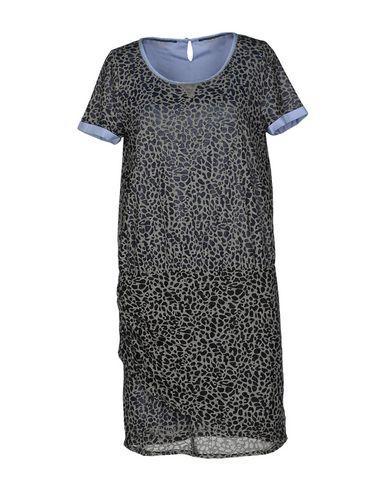 Maison Scotch Short Dress In Grey