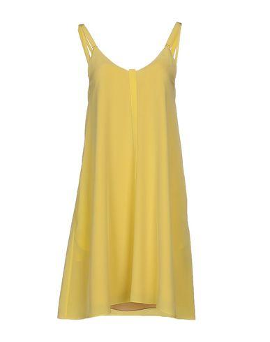 Dorothee Schumacher Short Dress In Yellow
