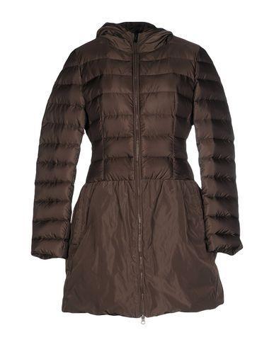 Add Down Jacket In Dark Brown
