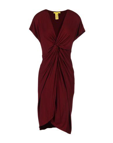 Catherine Malandrino Short Dress In Maroon