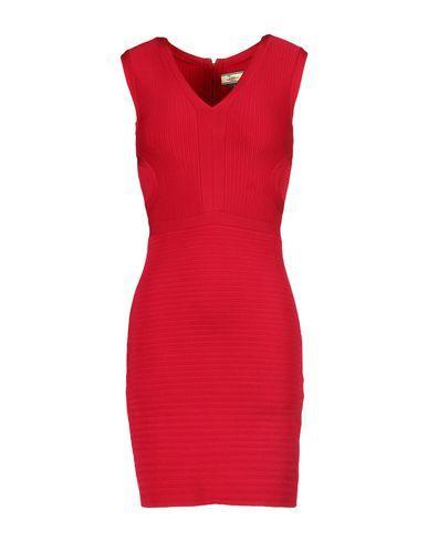 Issa Short Dresses In Garnet