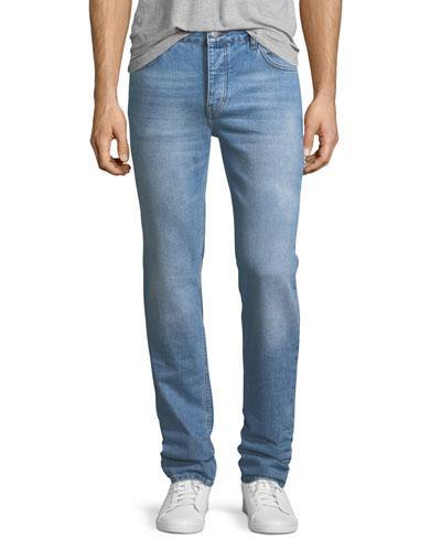 Wesc Eddy Light Wash Slim Jeans In Soft Blue