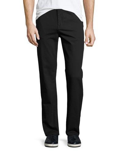 Wesc Eddy Slim Chino Pants In Black