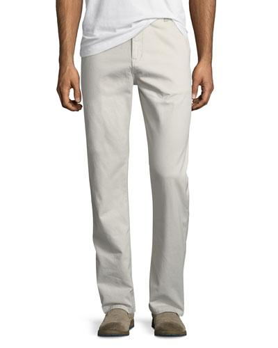 Wesc Eddy Relaxed Chino Pants In Moon Beam