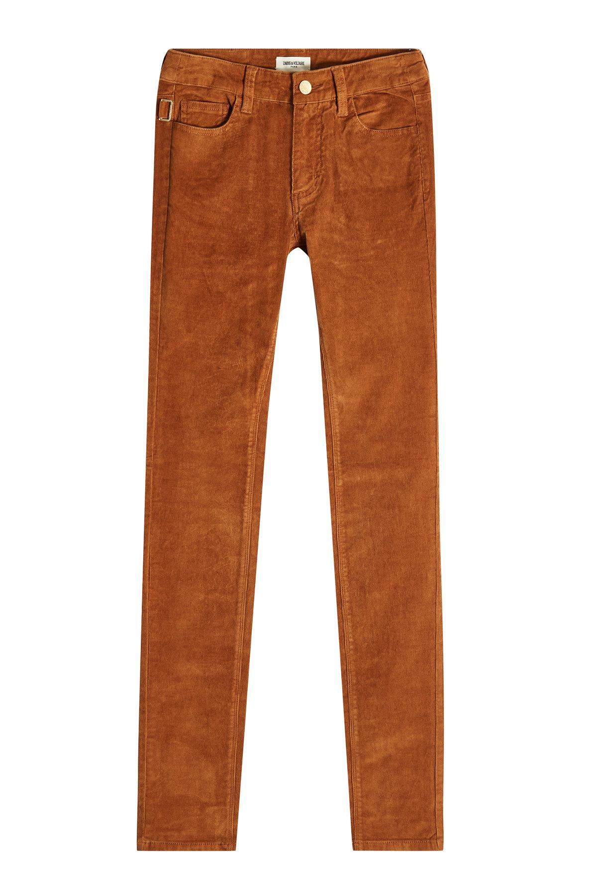 Zadig & Voltaire Corduroy Pants In Brown