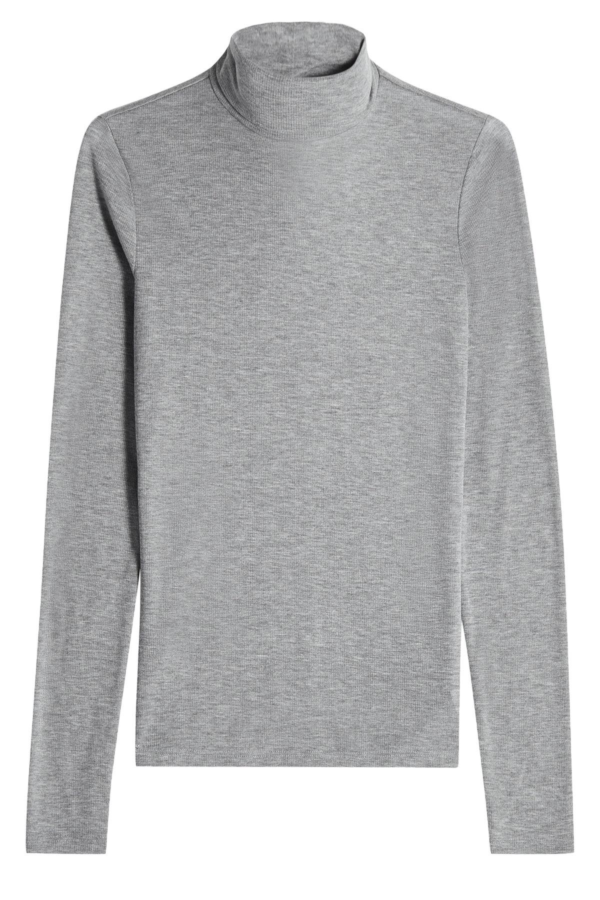 Theory Turtleneck Pullover In Grey