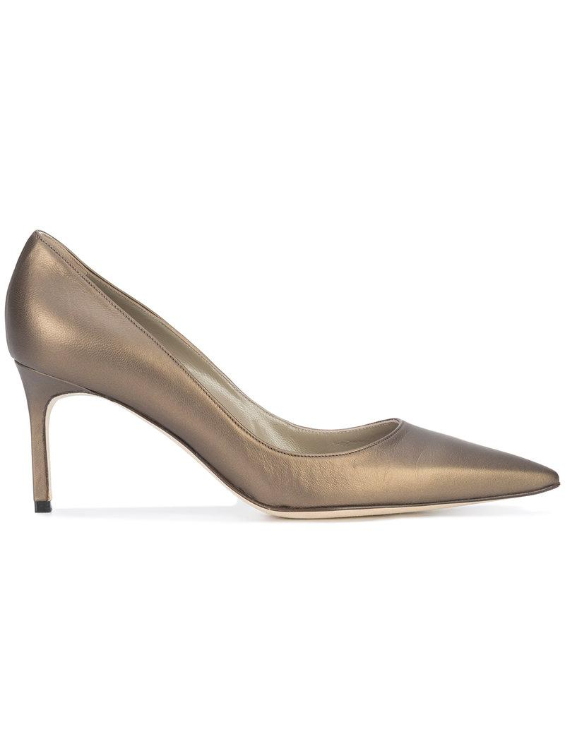 Manolo Blahnik Lisa 70 Pumps