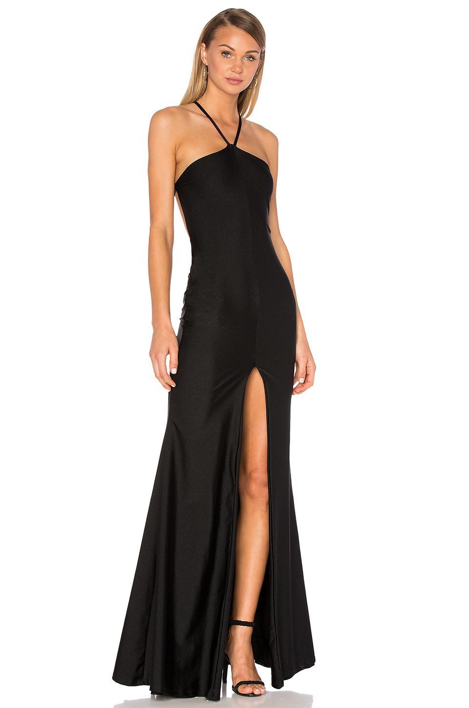 Lurelly Venetian Gown In Black