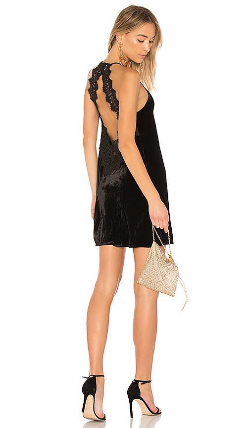 Cami Nyc The Soho Velvet Dress In Black